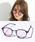 ENTRA(エントラ)の「ENTRA / サングラス 伊達眼鏡 UVカット カラーレンズサングラス(サングラス)」 パープル
