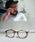 ENTRA(エントラ)の「ENTRA / サングラス 伊達眼鏡 UVカット カラーレンズサングラス(サングラス)」 ブラウン