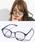 ENTRA(エントラ)の「ENTRA / サングラス 伊達眼鏡 UVカット カラーレンズサングラス(サングラス)」 グレー