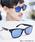 ENTRA(エントラ)の「ENTRA / サングラス 伊達眼鏡 UVカット カラーレンズサングラス(サングラス)」 B