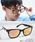 ENTRA(エントラ)の「ENTRA / サングラス 伊達眼鏡 UVカット カラーレンズサングラス(サングラス)」 D