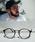 ENTRA(エントラ)の「ENTRA / サングラス 伊達眼鏡 UVカット カラーレンズサングラス(サングラス)」 グレー系その他2