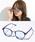 ENTRA(エントラ)の「ENTRA / サングラス 伊達眼鏡 UVカット カラーレンズサングラス(サングラス)」 ライトブルー