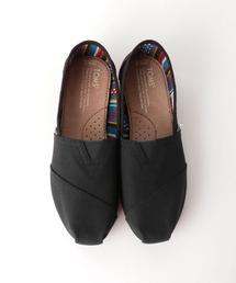 <TOMS> ALL BLACK CVS シューズ