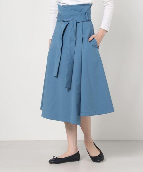 THE IRON:ハイウエストAラインスカート