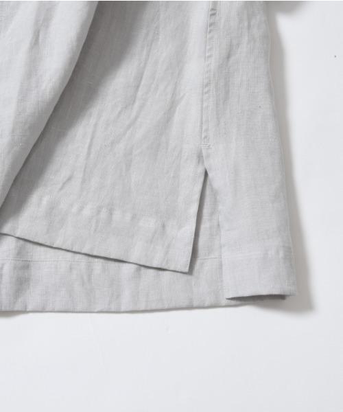 LE GLAZIK(ルグラジック)の「LE GLAZIK / ル グラジック スキッパーブラウス LINEN CLOTH BLOUSE JL-3803(シャツ/ブラウス)」|詳細画像