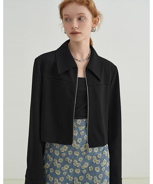 【Fano Studios】【2021AW】Double zip lapel jacket FX21S233