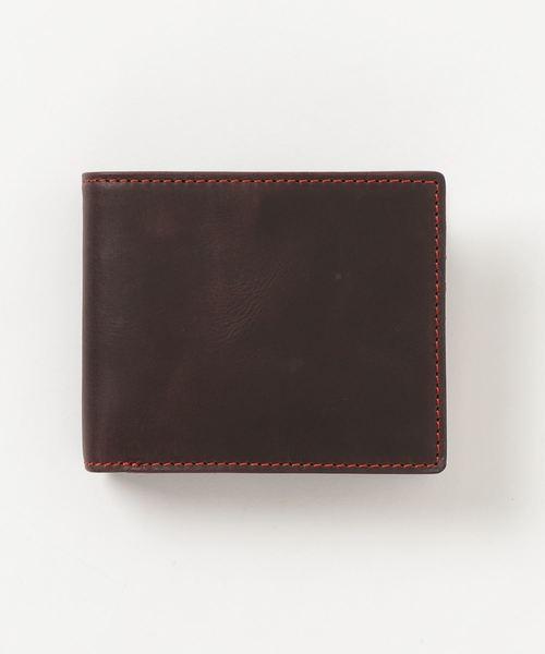 <ZONALe / GLEY> バッファローレザー ワックス仕上げ / 二つ折財布