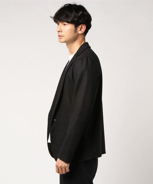 【FACTOTUM】TOP杢ジャージイージー1Bジャケット