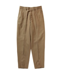 SPRING2020 WIDE TAPERED PANTSモカ