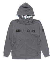 RIP CURL(リップカール)の【RIP CURL リップカール】メンズ長袖ラッシュガード ジップアップ フードパーカー / 水着(ラッシュガード)