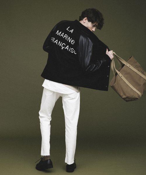 完成品 【セール】13.6ozストレッチデニムストレート5P(パンツ)|LA MARINE FRANCAISE(マリン MARINE FRANCAISE,マリン フランセーズ)のファッション通販, もりもり健康堂:bf2c8ce1 --- jobfeed.hu