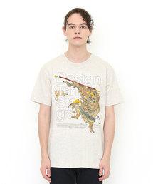コラボレーションTシャツ/タテロゴ玉兎孫悟空(月岡芳年)(Tシャツ/カットソー)