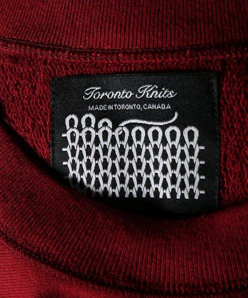 Toronto Knitting Mills/トロント・ニッティングミルズ:classic crew neck#