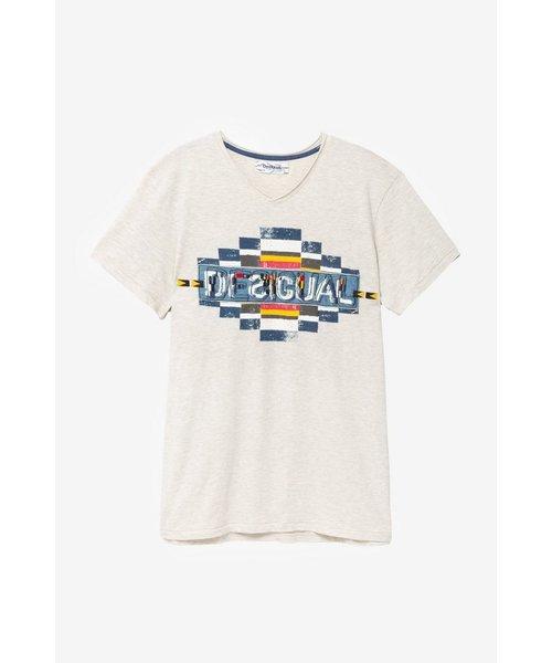 ジオ柄Tシャツ BALTHASAR
