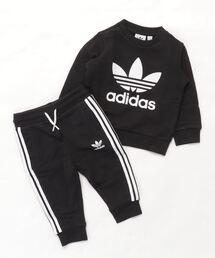 d9c4527e85304 adidas(アディダス)のクルー スウェットシャツ 上下セット  Crew Sweatshirt Set  アディダス