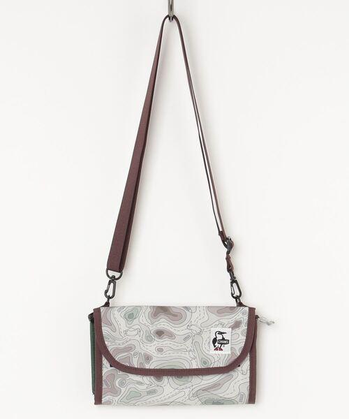 CHUMS(チャムス)の「Eco Bellows Pocketbook Shoulder(ショルダーバッグ)」|ブラウン