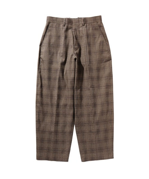 SPRING2020 WIDE TAPERED SLACKS