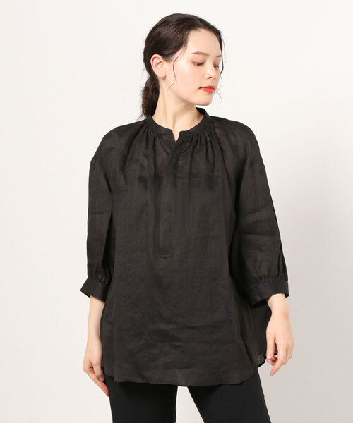 LE GLAZIK / ル グラジック ラミープルオーバーシャツ RAMIE PULLOVER SHIRT JL-3797RAM