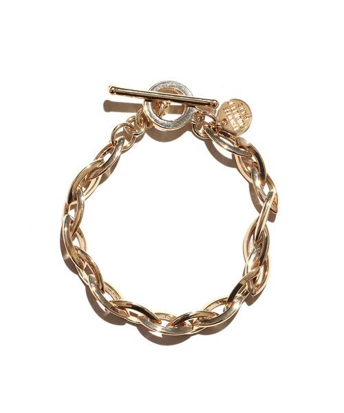 PHILIPPE AUDIBERT(フィリップ オーディベール)の「PHILIPPE AUDIBERT/フィリップオーディベール Elton bracelet ブレスレット(ブレスレット)」 ゴールド
