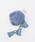 ma chere Cosette?(マシェールコゼット)の「タッセル付きリアルファーチャーム(チャーム)」|ブルー