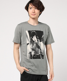 THE ROLLING STONES/MICK 1968 プリント Tシャツ