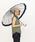 Wpc.(ダブリュピーシー)の「雨傘 16本骨切り継ぎストライプ(長傘)」|オフホワイト