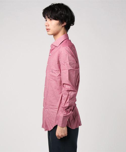 【MARIA SANTANGELO】ヘリンボーンシャツ <Zio Bernardo import>