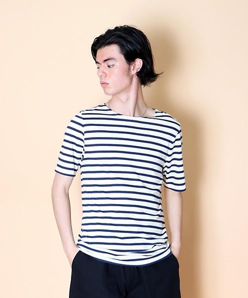 【 SAINT JAMES / セントジェームス 】LEVANT MODERN レヴェンドモダン ボートネック Tシャツ 9863
