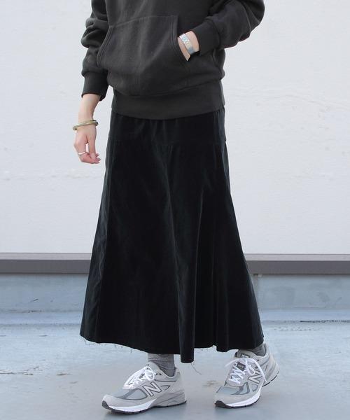 MEYAME/メヤメ ビューティフルスカート ベロア BEAUTIFUL SKIRT VELOUR
