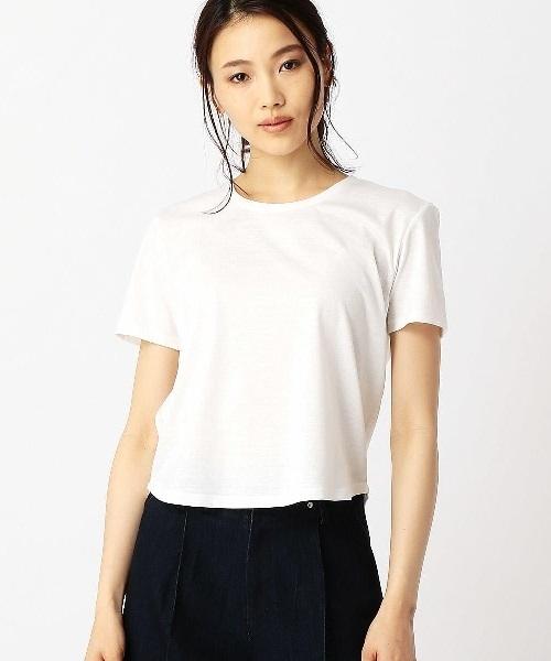 【サマーニット】ロングカーディガン&Tシャツ