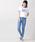 WEGO(ウィゴー)の「∴WEGO/PEPSI別注リンガーTシャツ(Tシャツ/カットソー)」|詳細画像