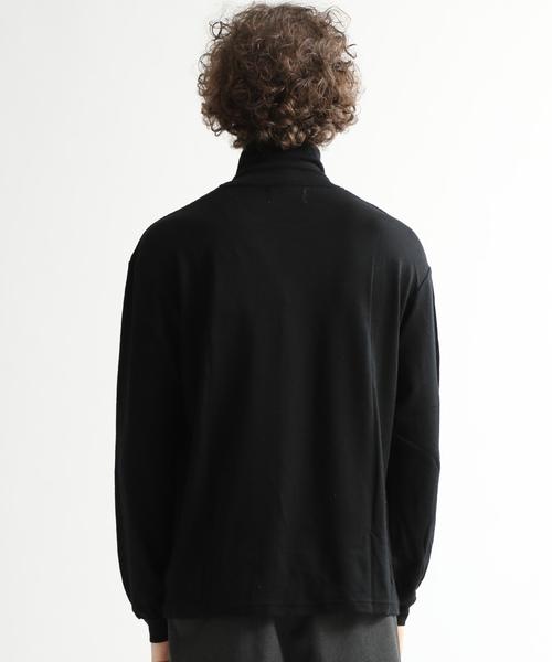 【markaware】HIGH NECK SWEATER