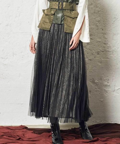 最高の 【AULA AILA】 AILA】 チュールレイヤード プリーツスカート(スカート) AULA AULA AILA(アウラアイラ)のファッション通販, 愛知県:8f73089f --- bit4mation.de