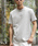 London Denim(ロンドンデニム)の「▼WEB限定【London Denimオリジナル】空紡糸天竺 / オリジナルロゴ プリント クルーネック Tシャツ(半袖)(Tシャツ/カットソー)」|グレー