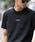 London Denim(ロンドンデニム)の「▼WEB限定【London Denimオリジナル】空紡糸天竺 / オリジナルロゴ プリント クルーネック Tシャツ(半袖)(Tシャツ/カットソー)」|ブラック