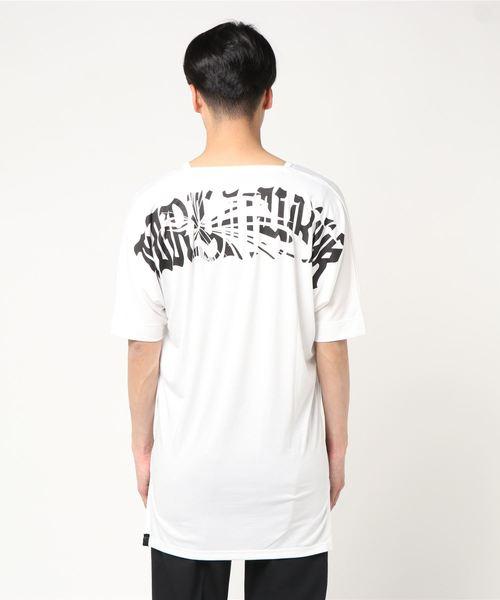 kiryuyrik(キリュウキリュウ)の「Dolman-V-Neck-T(Tシャツ/カットソー)」|ホワイト