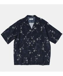 <monkey time> FLOWER PRINT OPEN SHT/シャツ
