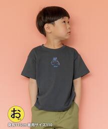 【coen キッズ/ジュニア】ベアイラストプリントTシャツ