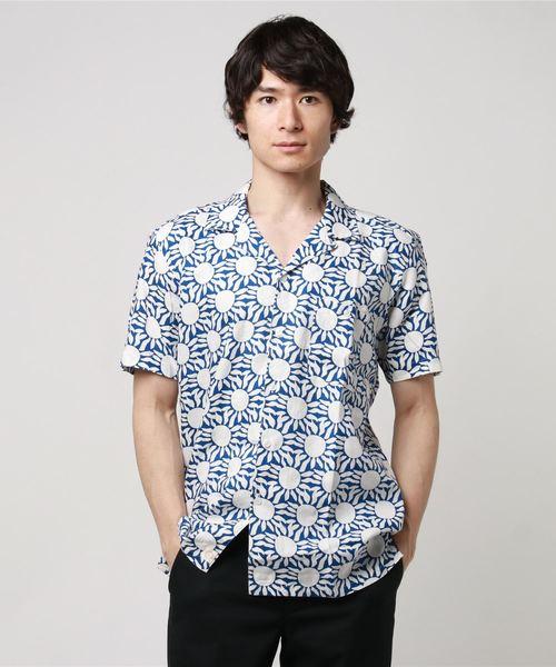 AFIELD(エーフィールド)の「サマーシャツ(シャツ/ブラウス)」|ブルー