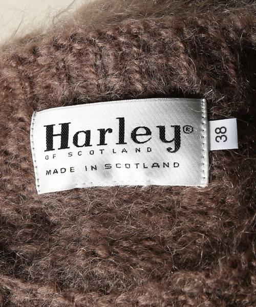 【Begin掲載】HARLEY / ハーレー モヘアニット #