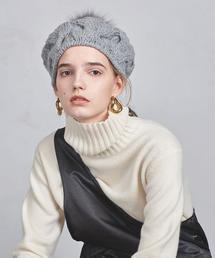 UWCS CABLE PON ニットベレー帽