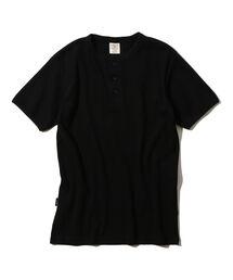 AVIREX(アヴィレックス)のavirex/アヴィレックス/メンズ/DAILY S/S HENLEY NECK-T-SHIRT/デイリー 半袖 ヘンリーネック Tシャツ(Tシャツ/カットソー)