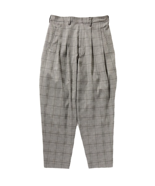SPRING2020 2TACK TAPERED SLACKS