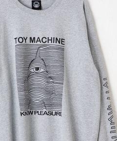 トイマシーン TOY MACHINE / TOYDIVISION ロングスリーブTee