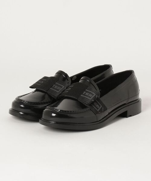 【 HUNTER / ハンター 】WOMENS REFINED BOW GLOSS PENNY LOAFER WFF1084RGL