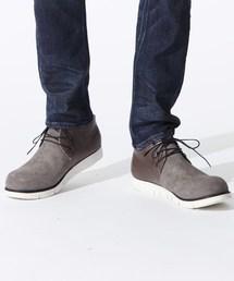 OURET(オーレット)のOIL BACCHETTA SUEDE VIBRAM SOLE CHUKKA BOOTS(ブーツ)