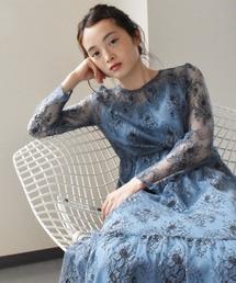kaene(カエン)のオールレースワンピース(ドレス)