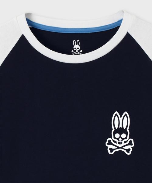 ワンポイント ラグランロングTシャツ