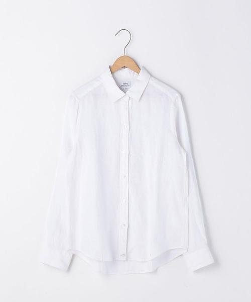 フレンチリネンシャツ